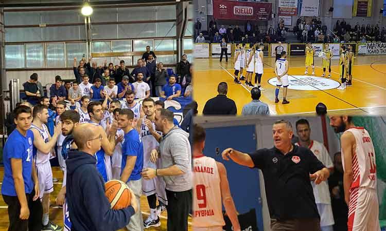 Β΄Εθνική μπάσκετ: Πανηγυρισμοί στην 8η αγωνιστική για Παπάγου, Μαρούσι και Πανερυθραϊκό
