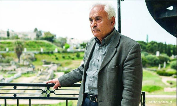 Τιμητική εκδήλωση για τον καθηγητή Πέτρο Θέμελη στο Ηράκλειο