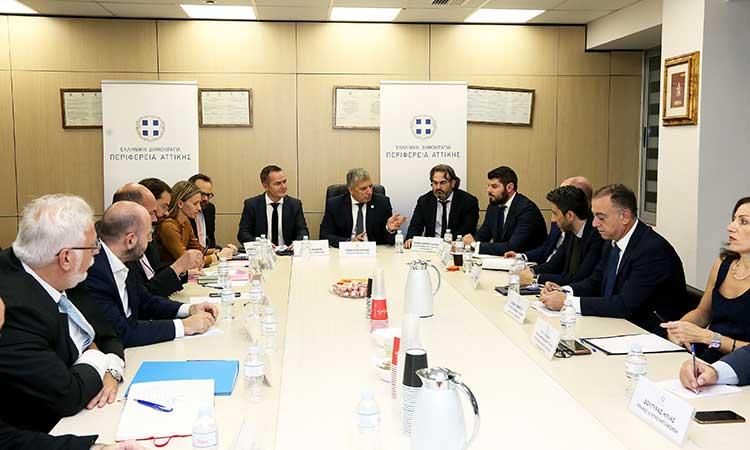 Διευρυμένη σύσκεψη Περιφέρειας Αττικής για την οδική ασφάλεια των πολιτών