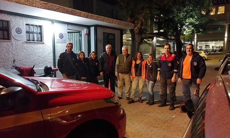 Σε 24ωρη επιφυλακή και αυξημένη ετοιμότητα η Πολιτική Προστασία και η Εθελοντική Ομάδα Δήμου Αμαρουσίου