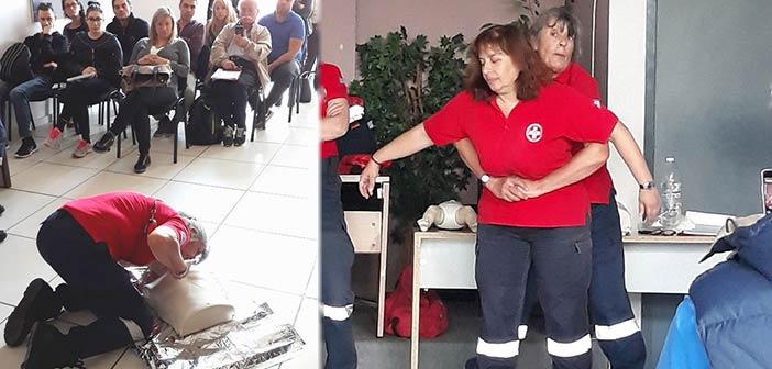 50 πολίτες του Δήμου Αγίας Παρασκευής εκπαιδεύτηκαν σε Πρώτες Βοήθειες & ΚΑΡΠΑ