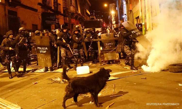 Βολιβία: Νέα επεισόδια στη Λα Πας εν μέσω της συζήτησης στο Κογκρέσο για την οργάνωση νέων εκλογών