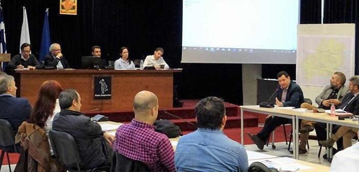 Παρουσία Θ. Αμπατζόγλου η 1η διαβούλευση φορέων για το ΣΒΑΚ Δήμου Αμαρουσίου