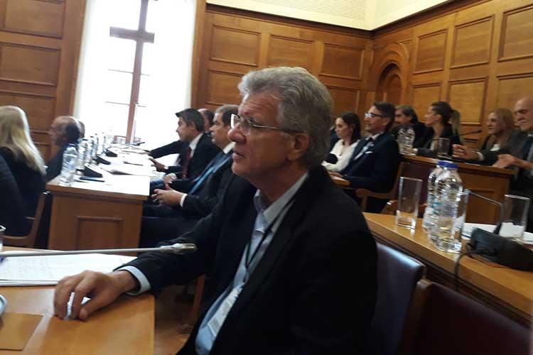 Ο Γ. Θεοδωρακόπουλος στην αρμόδια Επιτροπή της Βουλής για το αθλητικό ν/σ