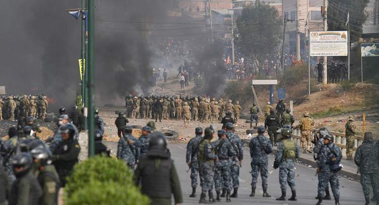 ΟΗΕ: Αναίτια και δυσανάλογη χρήση βίας στη Βολιβία