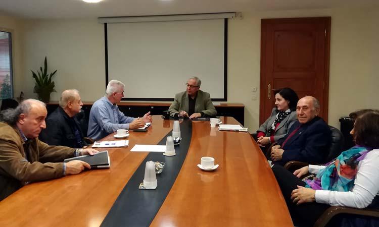 Συνάντηση Θ. Αμπατζόγλου με τον Σύλλογο Ποντίων Αμαρουσίου «Νίκος Καπετανίδης»