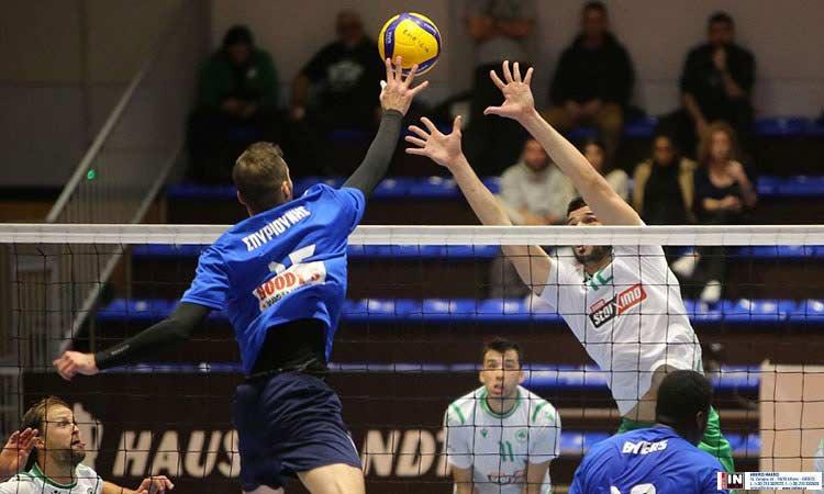 Volley League: Καλή εμφάνιση, αλλά ήττα του ΑΟΠ Κηφισιάς από τον Παναθηναϊκό στην 5η αγωνιστική