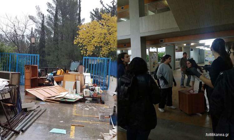 Η Περιφέρεια Αττικής παρούσα και στη δράση αποκομιδής άχρηστων υλικών από τη Φιλοσοφική Σχολή του ΕΚΠΑ