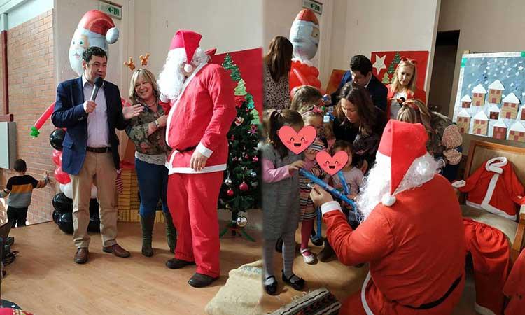 Στη χριστουγεννιάτικη εκδήλωση του ΚΟΙΠΑΠ για τα παιδιά των Παιδικών Σταθμών ο Τ. Μαυρίδης