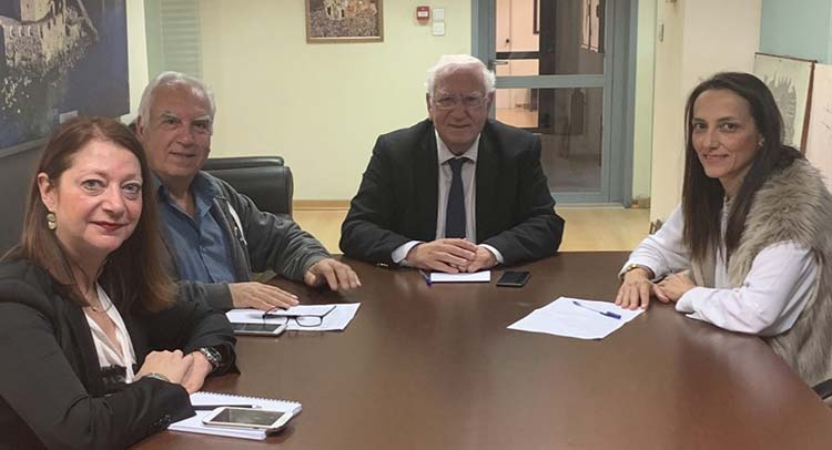 Συνάντηση εκπροσώπων Δήμου Λυκόβρυσης – Πεύκης και υπ. Τουρισμού για τις αδελφοποιήσεις πόλεων
