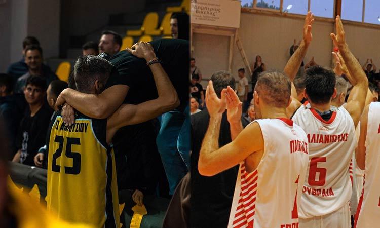Πανερυθραϊκός, Μαρούσι και Πεντέλη στις πρώτες  θέσεις της Β' Εθνικής μπάσκετ