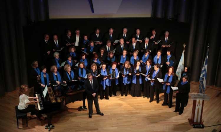 Χριστουγεννιάτικη συναυλία από τη Μικτή Χορωδία Παπάγου – Χολαργού