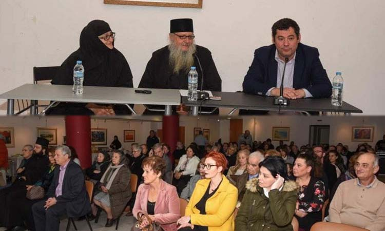 Μια διαφορετική ομιλία για τον Αγιορείτικο Μοναχισμό στον Δήμο Λυκόβρυσης – Πεύκης