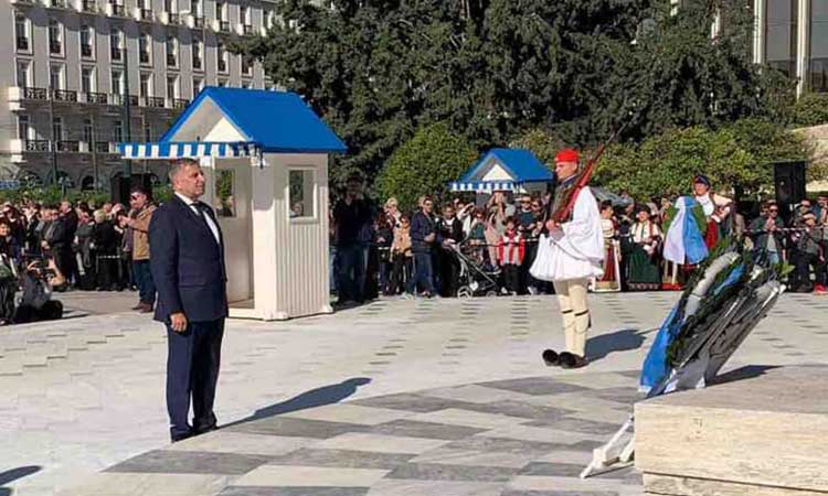 Στις εκδηλώσεις για την 138η Επέτειο Απελευθέρωσης της Θεσσαλίας ο περιφερειάρχης Αττικής