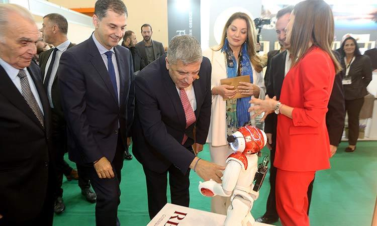 Στα εγκαίνια της Athens International Tourism Expo ο περιφερειάρχης Αττικής Γ. Πατούλης