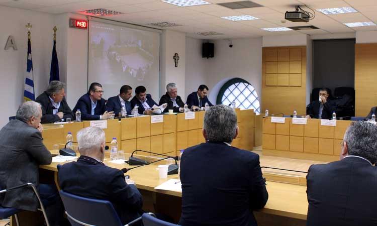 ΠΕΔΑ: Δήμαρχοι και πρόεδρος «Πράσινου Ταμείου» συζήτησαν για χρηματοδοτικά προγράμματα