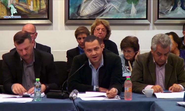 Ο Σύλλογος Πολυδρόσου στην 1η συνεδρίαση της Δημοτικής Επιτροπής Διαβούλευσης Αμαρουσίου για την περίοδο 2019/23 – Βίντεο