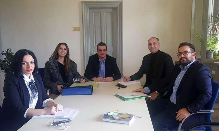 Συνάντηση δημάρχου Μεταμόρφωσης – προέδρου Πράσινου Ταμείου για την απορρόφηση κονδυλίων