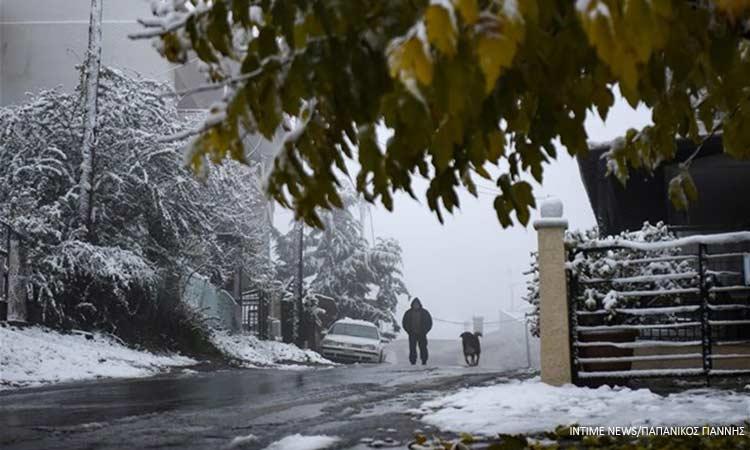 Βροχές, χιονόνερο και παγετός