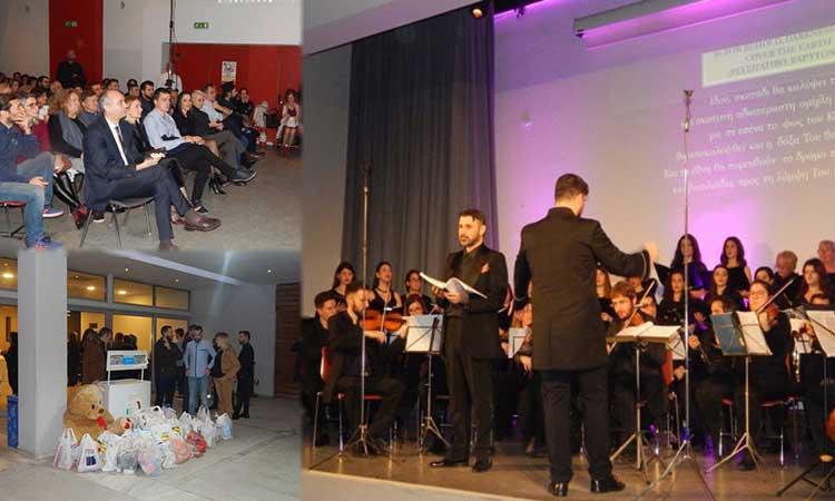 Σε κλίμα κατάνυξης η χριστουγεννιάτικη συναυλία του Δήμου Μεταμόρφωσης