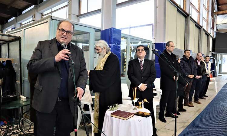 Μήνυμα για την παγκόσμια ειρήνη από τον δήμαρχο Χαλανδρίου στον εορτασμό των Θεοφανίων
