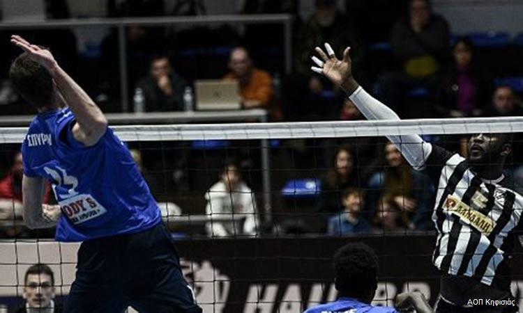 Volley League: Με νίκη… μπήκε στο 2020 ο ΑΟΠ Κηφισιάς