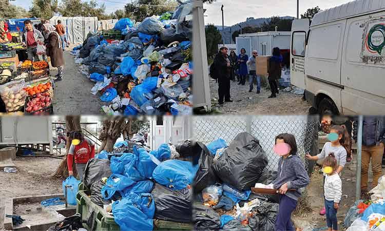 Αποστολή αλληλεγγύης Δήμου Χαλανδρίου στη Μόρια – «Παιδιά πίνουν νερό δίπλα στα σκουπίδια»