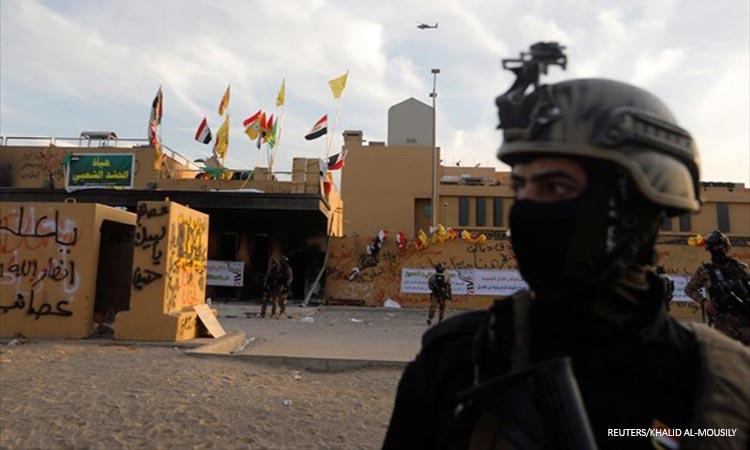 Βαγδάτη: Επίθεση με ρουκέτες κατά της πρεσβείας των ΗΠΑ – Τουλάχιστον ένας τραυματίας