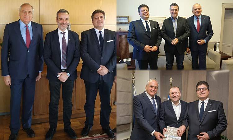 Συναντήσεις της νέας διοίκησης της ΕΕΤΑΑ με θεσμικούς εκπροσώπους της Τ.Α. Θεσσαλονίκης
