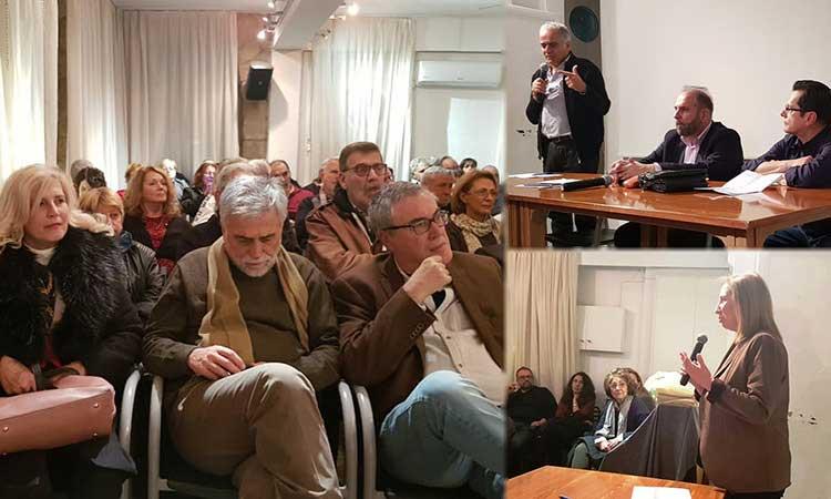 Πλήθος κόσμου σε ανοιχτή πολιτική εκδήλωση της Ο.Μ. ΣΥΡΙΖΑ Κηφισιάς