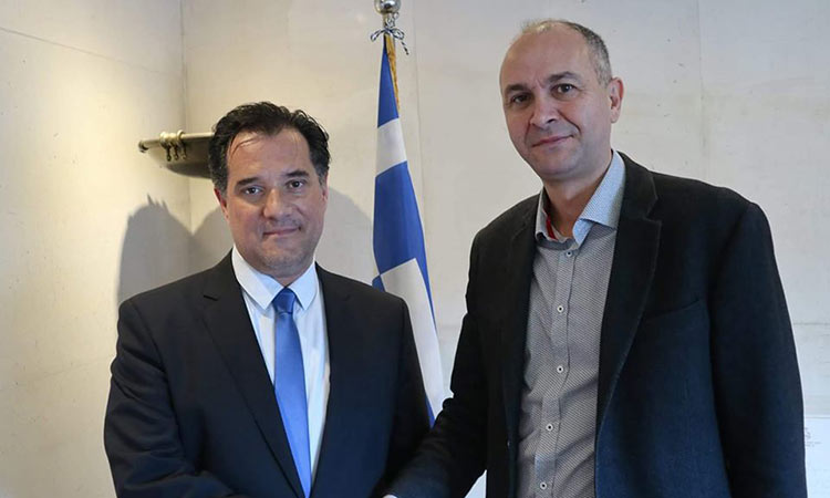 Με τον υπουργό Ανάπτυξης & Επενδύσεων συναντήθηκε ο δήμαρχος Μεταμόρφωσης