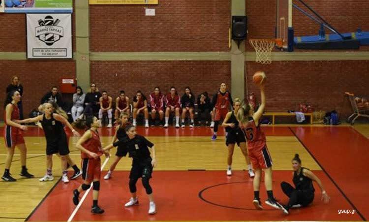 Νέα νίκη για τον Γ.Σ. Αγίας Παρασκευής στη 14η αγωνιστική της Α2 μπάσκετ Γυναικών