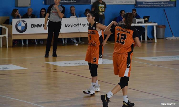 Α1 μπάσκετ Γυναικών: Εντός έδρας ήττα για τον ΚΑΟ Μελισσίων από τη Νίκη Λευκάδος