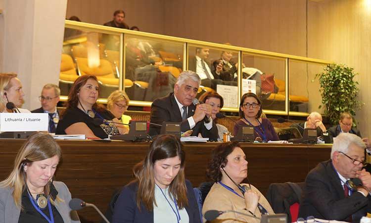 Σε συνεδρίαση της Π.Ε. του Συμβουλίου Ευρωπαϊκών Δήμων & Περιφερειών αντιπροσωπεία της ΚΕΔΕ