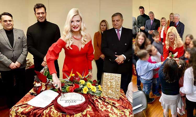 Την πρωτοχρονιάτικη πίτα του έκοψε ο Όμιλος για την UNESCO Βορείων Προαστίων