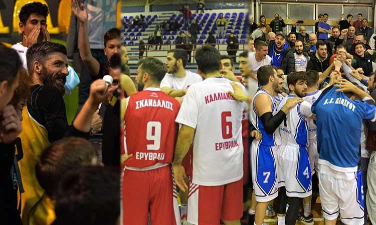 «Μοιρασμένη» η 15η αγωνιστική της Β' Εθνικής μπάσκετ για τους Βόρειους