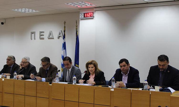 Σε συνάντηση στην ΠΕΔΑ για τη δίχρονη υποχρεωτική προσχολική αγωγή συμμετείχε ο Τ. Μαυρίδης
