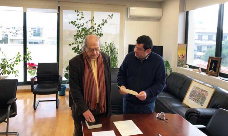Νέος κοινοτικός σύμβουλος Πεύκης ο Κωνσταντίνος Παγώνης