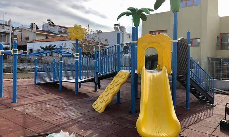 Γ. Σταθόπουλος: Συνεχίζεται το έργο μας διανοίξεων οδών και κατασκευής παιδικής χαράς στην Ερμού & Αισώπου