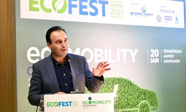 5 άξονες για πιο «πράσινες» πόλεις ανέλυσε ο πρόεδρος της ΚΕΔΕ στην ημερίδα ECOFEST