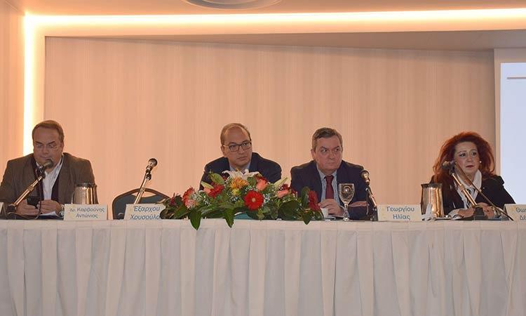 Σε επιστημονική ημερίδα για την Τοπική Αυτοδιοίκηση συμμετείχε η δήμαρχος Ν. Ιωνίας