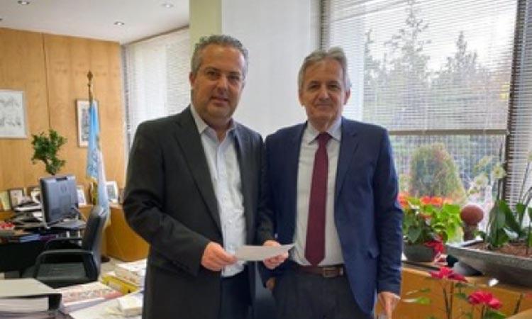Για θέματα μεταφορών και επικοινωνιών συζήτησαν Ηλ. Αποστολόπουλος και Β. Γιαννακόπουλος