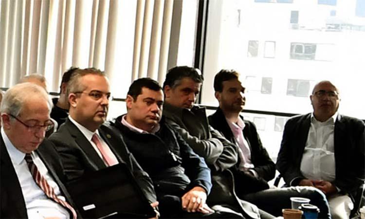 Στη συνάντηση Περιφέρειας και Δήμων του Βόρειου Τομέα για τον σχεδιασμό διαχείρισης απορριμμάτων ο Τ. Μαυρίδης