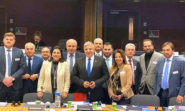 «Μπαράζ» επαφών του Γ. Πατούλη με στελέχη της Ευρωπαϊκής Επιτροπής στις Βρυξέλλες