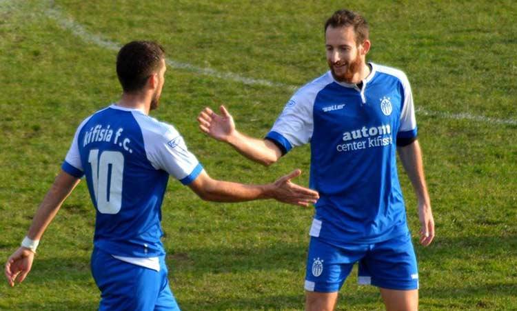 Με 2-0 νίκησε η Κηφισιά τον Ερμή Κορυδαλλού και είναι 3η στη Γ' Εθνική Ποδοσφαίρου