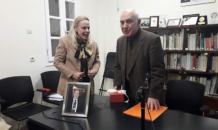 Η Κηφισιά τίμησε τη μνήμη του καθηγητή Κωνσταντίνου Σβολόπουλου