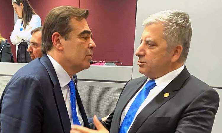 «Τετ α τετ» περιφερειάρχη Αττικής και Έλληνα αντιπροέδρου της Ε.Ε. στις Βρυξέλλες