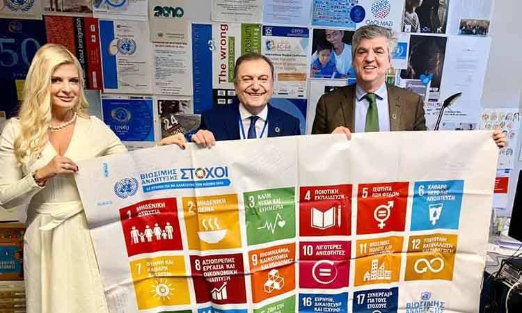 Στρατηγική συνεργασία Δικτύου «Πόλις – Τέχνη Χρω» με το γραφείο Επικοινωνίας του ΟΗΕ για Ελλάδα και Κύπρο