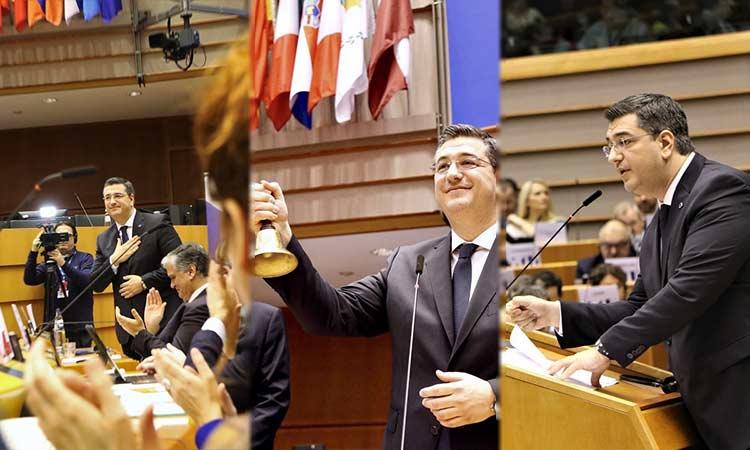 Απ. Τζιτζικώστας: Πρώτος Έλληνας στην προεδρία θεσμικού οργάνου στην Ευρώπη