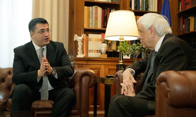 Με τον ΠτΔ συναντήθηκε ο πρόεδρος της Ευρωπαϊκής Επιτροπής των Περιφερειών